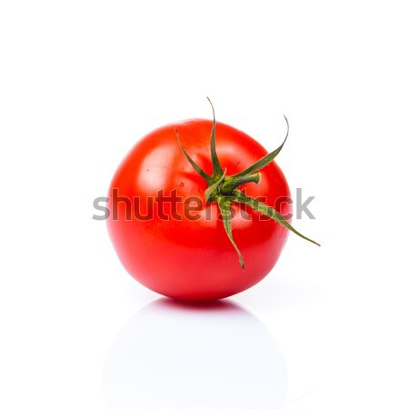 Tomaat voedsel witte niemand organisch bestanddeel Stockfoto © EwaStudio