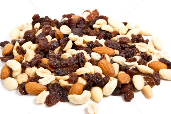 орехи фон виноград еды веса Сток-фото © EwaStudio