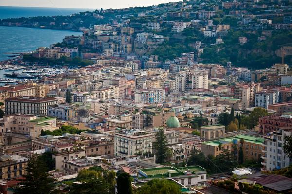 Wonderful view on Naples Stock photo © EwaStudio