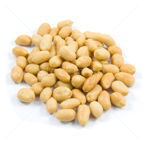 Salted peanuts. Nuts in a Small Bowl  Stock photo © EwaStudio