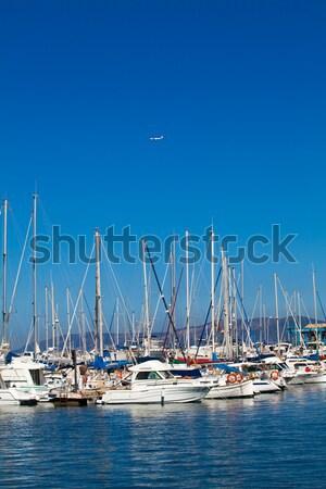 лодках порт лук марина воды океана Сток-фото © EwaStudio