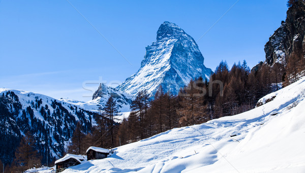Matterhorn , Swiss Alps  Stock photo © EwaStudio