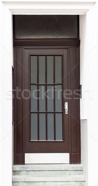 старые двери дома стены домой Сток-фото © EwaStudio