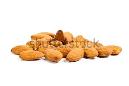 almonds isolated on the white background  Stock photo © EwaStudio