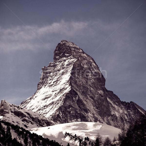 The Matterhorn in Switzerland  Stock photo © EwaStudio