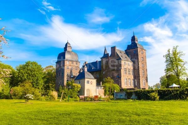 Piękna lata widoku zamek Niemcy golf Zdjęcia stock © EwaStudio