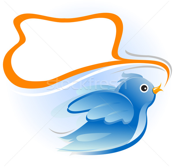 twitter bird Stock photo © exile7