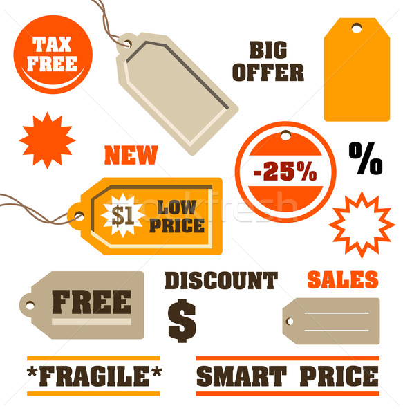 Sales Tags Stock photo © exile7