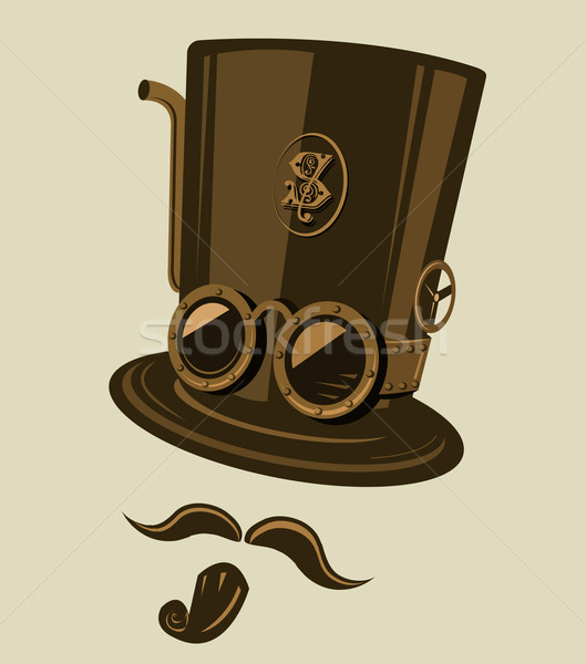 Steampunk top hat Stock photo © exile7
