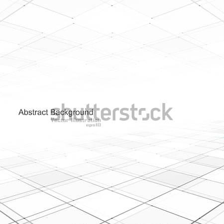 Résumé géométrique perspectives eps10 lumière espace Photo stock © ExpressVectors