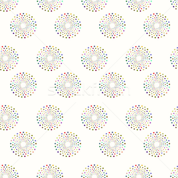 Painting seamless pattern - vector background Stock photo © ExpressVectors