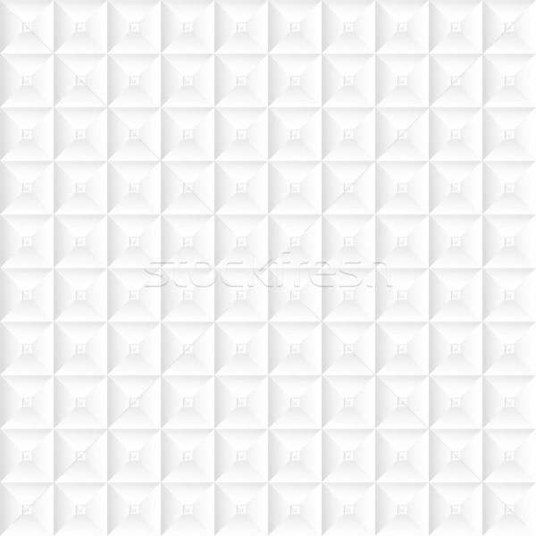 Fehér textúra végtelenített mértani vektor üzlet Stock fotó © ExpressVectors