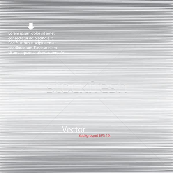 Métallique design idées mur lumière fond Photo stock © ExpressVectors