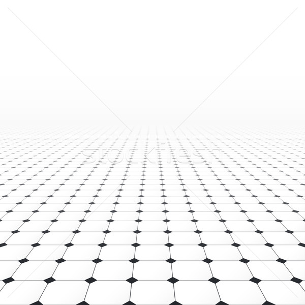 Tiled infinite floor. Stock photo © ExpressVectors