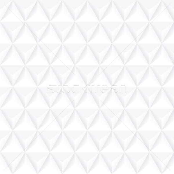 Bianco geometrica decorativo texture senza soluzione di continuità vettore Foto d'archivio © ExpressVectors