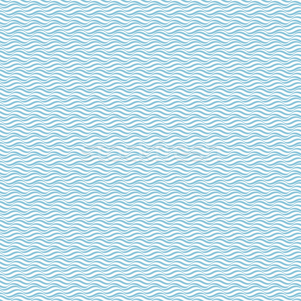 Modello onda senza soluzione di continuità blu vettore web tessuto Foto d'archivio © ExpressVectors