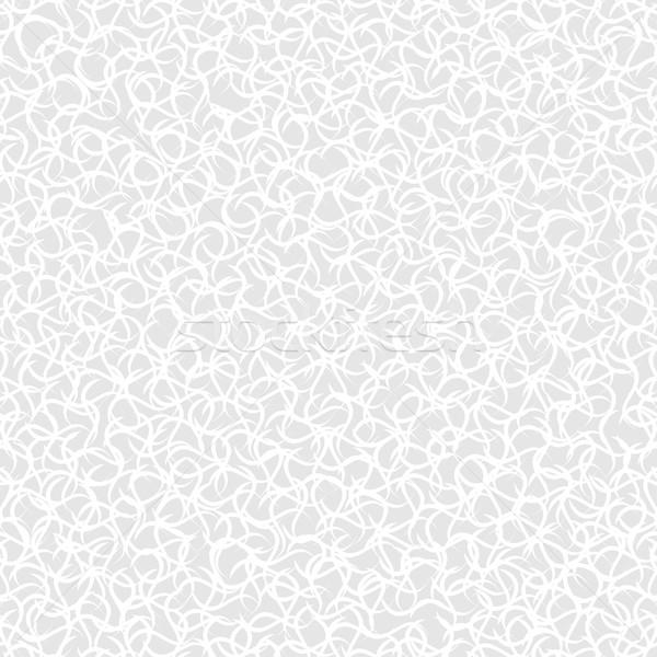 Vettore ripetibile bianco grigio texture Foto d'archivio © ExpressVectors