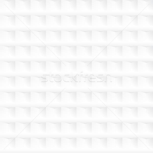 Fehér mértani textúra végtelenített kerámia dekoratív Stock fotó © ExpressVectors