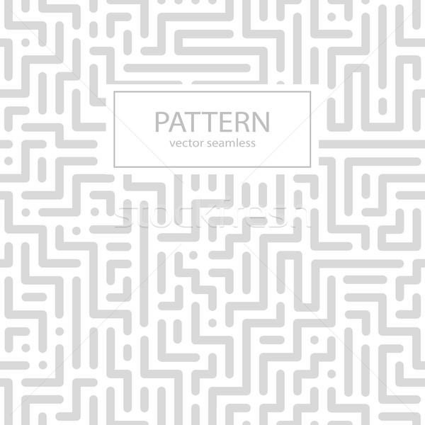 Csíkos végtelenített geometrikus minta digitális vektor fal Stock fotó © ExpressVectors