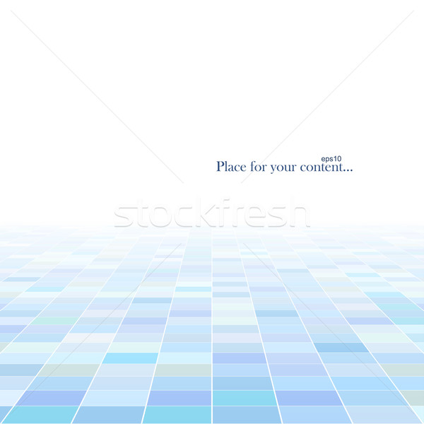 Absztrakt technológia nézőpont terv kék belső Stock fotó © ExpressVectors
