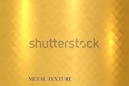 Gold metallic texture. Stock photo © ExpressVectors