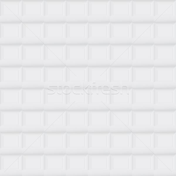 Gray tile geometric texture - seamless. Stock photo © ExpressVectors