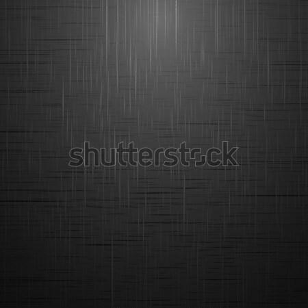 Black brushed surface. Stock photo © ExpressVectors