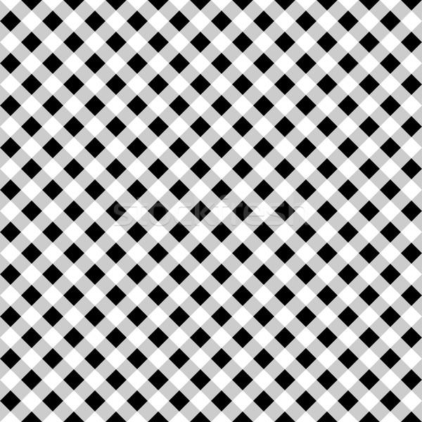 Panno bianco nero texture web li in bianco e nero Foto d'archivio © ExpressVectors