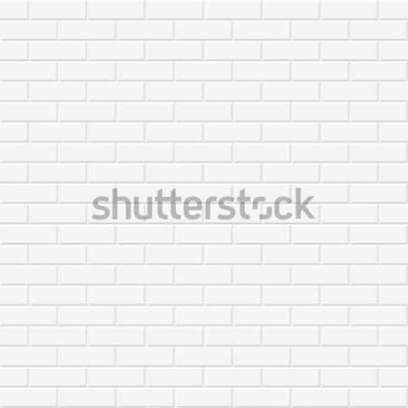 Brick wall texture. Seamless. Stock photo © ExpressVectors