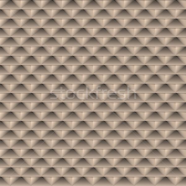 Geometrisch patroon naadloos vector 3D ontwerp licht Stockfoto © ExpressVectors