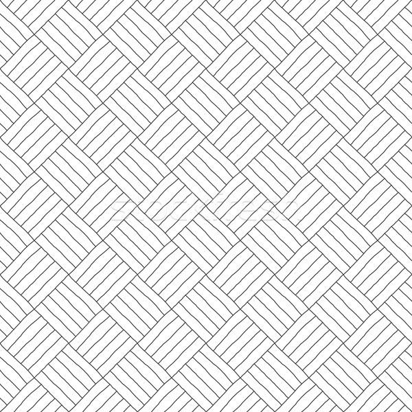 ручной работы геометрическим рисунком бесшовный вектора стены веб Сток-фото © ExpressVectors