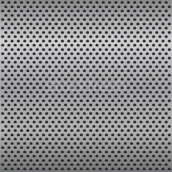 グリル 金属の質感 シームレス ベクトル 壁 抽象的な ストックフォト © ExpressVectors