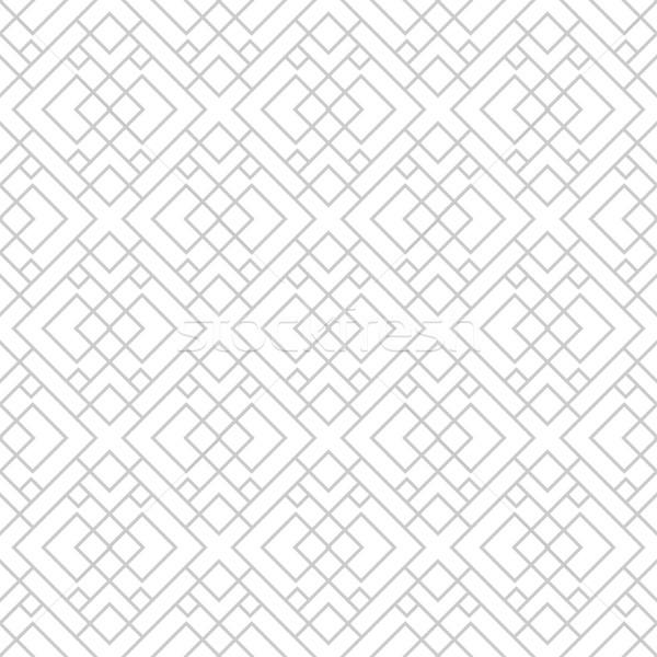 Mértani végtelen minta díszítő minta végtelenített vektor Stock fotó © ExpressVectors