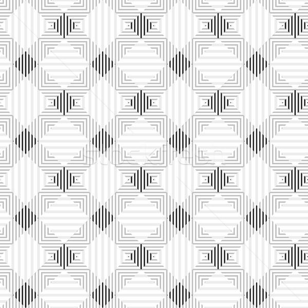 Strisce disegno geometrico senza soluzione di continuità vettore web tessuto Foto d'archivio © ExpressVectors