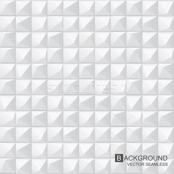 White texture - seamless. Vector background. Stock photo © ExpressVectors