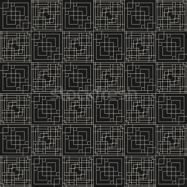Vector geometric pattern - seamless. Stock photo © ExpressVectors