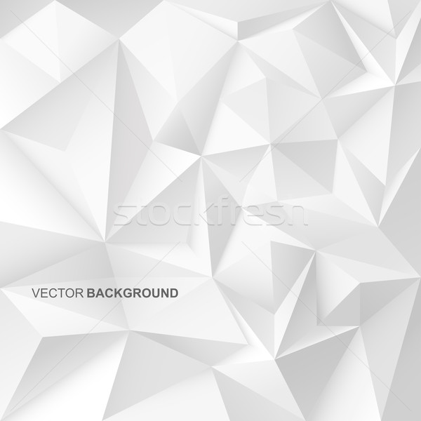 Abstract geometric background with white shapes. Stock photo © ExpressVectors