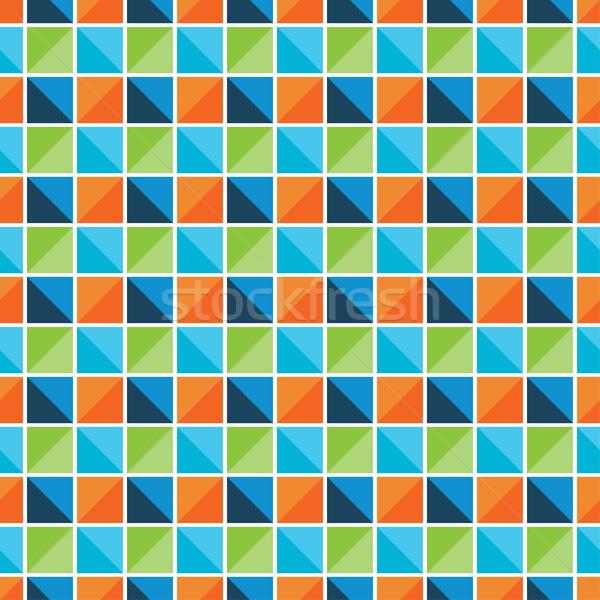 Vettore mosaico pattern senza soluzione di continuità colore texture Foto d'archivio © ExpressVectors