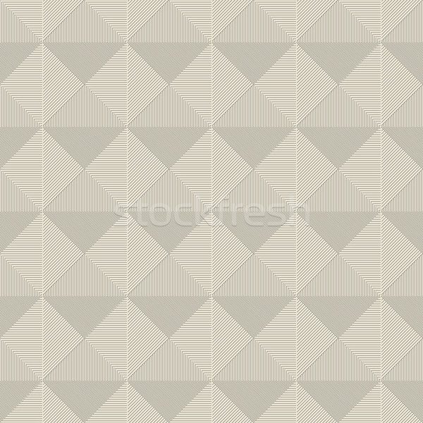 Stockfoto: Geometrisch · patroon · naadloos · karton · textuur · muur · kunst