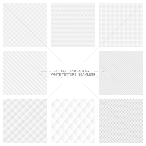 Upholstery texture, seamless vector collection. Stock photo © ExpressVectors