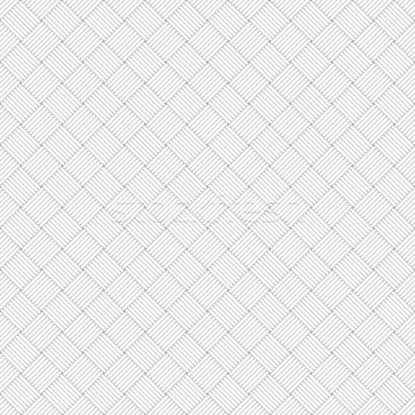 Branco geométrico textura sem costura fundo Foto stock © ExpressVectors