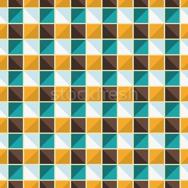 ベクトル 幾何学的な エンドレス パターン 色 シームレス ストックフォト © ExpressVectors