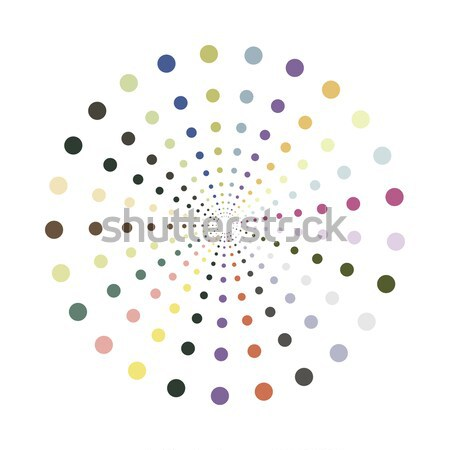 Stock photo: Abstract colorful shape.Vector design element