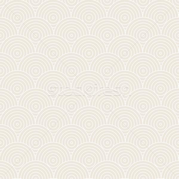ベクトルパターン シームレス サークル パターン 構造 コンセプト ストックフォト © ExpressVectors