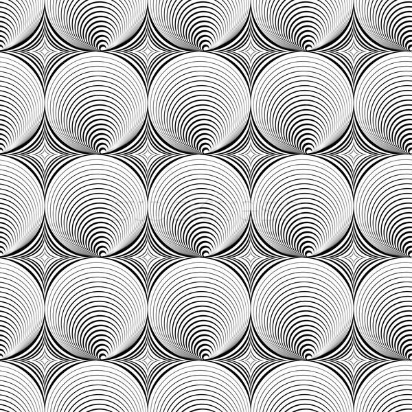 иллюзия бесшовный текстуры аннотация вектора стены Сток-фото © ExpressVectors