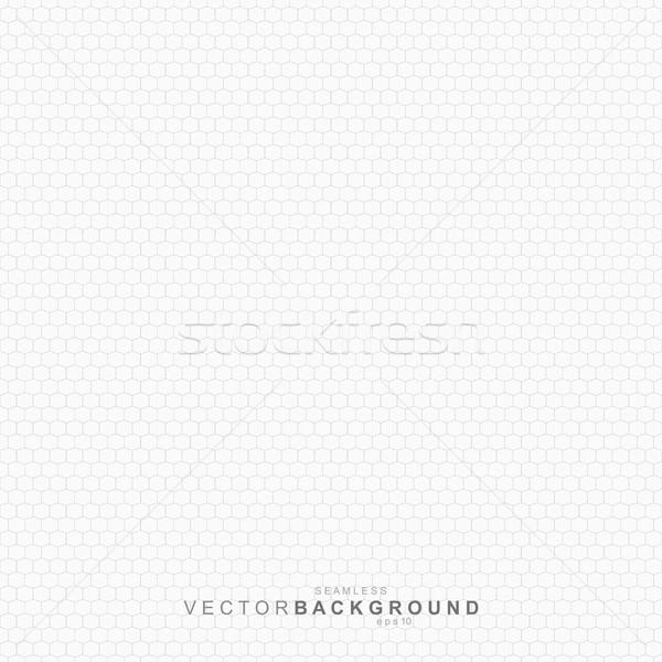 Fehér mértani textúra végtelenített vektor net Stock fotó © ExpressVectors