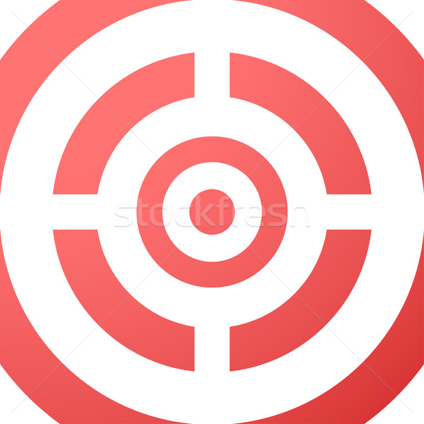 Target closeup red vector background. Stock photo © ExpressVectors