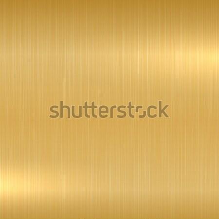 Gold metallic background. Polished texture. Stock photo © ExpressVectors