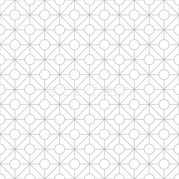 геометрический декоративный шаблон бесшовный вектора бумаги Сток-фото © ExpressVectors