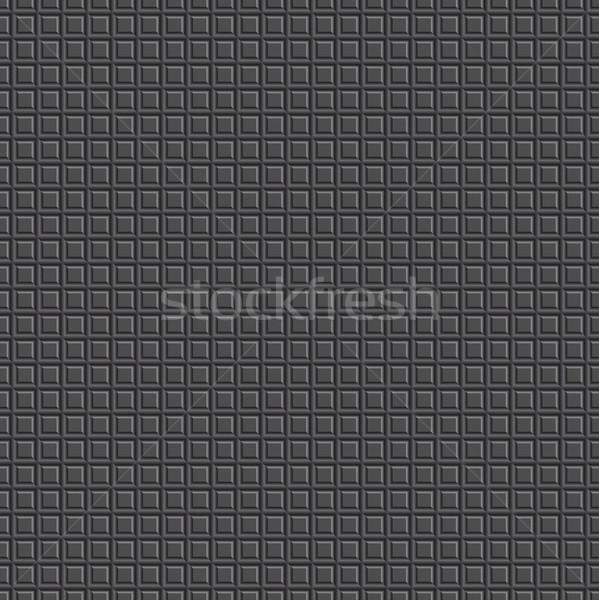 Squared black texture. Stock photo © ExpressVectors